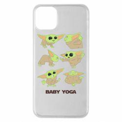Чехол для iPhone 11 Pro Max Baby Yoga