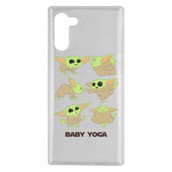 Чехол для Samsung Note 10 Baby Yoga