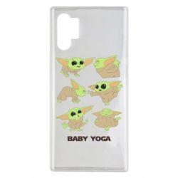 Чехол для Samsung Note 10 Plus Baby Yoga