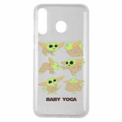 Чехол для Samsung M30 Baby Yoga