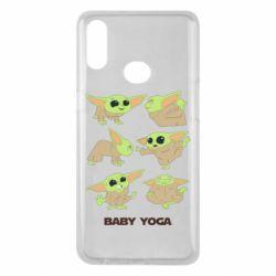 Чехол для Samsung A10s Baby Yoga