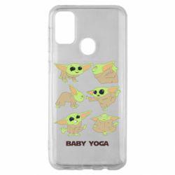 Чехол для Samsung M30s Baby Yoga