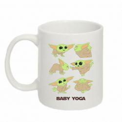 Кружка 320ml Baby Yoga