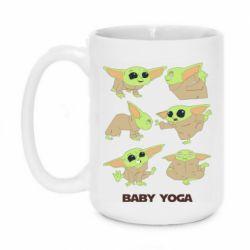 Кружка 420ml Baby Yoga