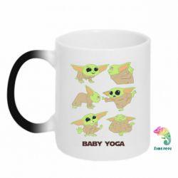 Кружка-хамелеон Baby Yoga