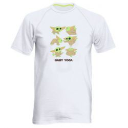 Мужская спортивная футболка Baby Yoga