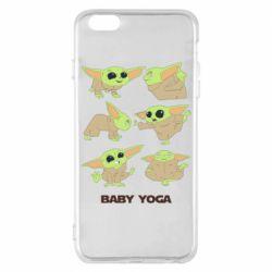 Чехол для iPhone 6 Plus/6S Plus Baby Yoga