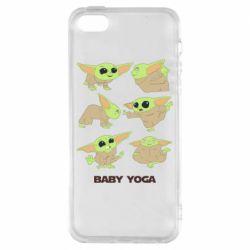 Чехол для iPhone5/5S/SE Baby Yoga