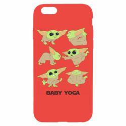 Чехол для iPhone 6/6S Baby Yoga