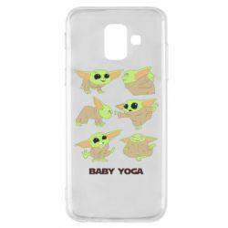 Чехол для Samsung A6 2018 Baby Yoga
