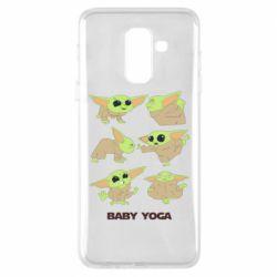 Чехол для Samsung A6+ 2018 Baby Yoga