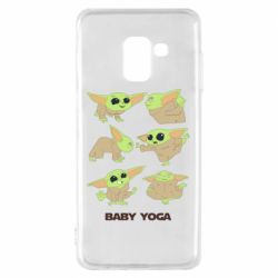 Чехол для Samsung A8 2018 Baby Yoga