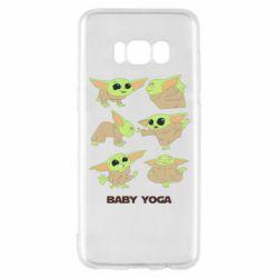 Чехол для Samsung S8 Baby Yoga