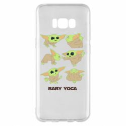 Чехол для Samsung S8+ Baby Yoga
