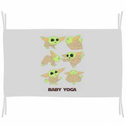 Флаг Baby Yoga