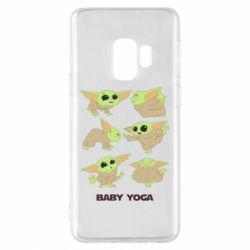 Чехол для Samsung S9 Baby Yoga