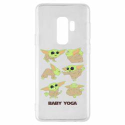 Чехол для Samsung S9+ Baby Yoga