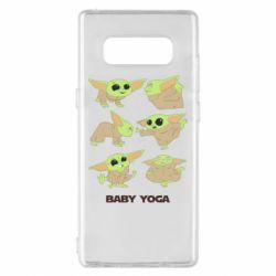 Чехол для Samsung Note 8 Baby Yoga
