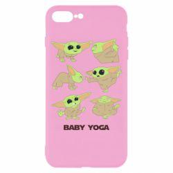 Чехол для iPhone 8 Plus Baby Yoga