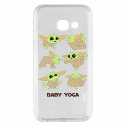 Чехол для Samsung A3 2017 Baby Yoga