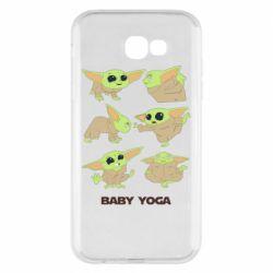 Чехол для Samsung A7 2017 Baby Yoga