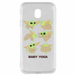 Чехол для Samsung J3 2017 Baby Yoga