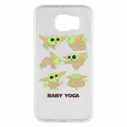 Чехол для Samsung S6 Baby Yoga