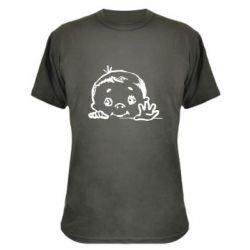 Камуфляжная футболка Baby
