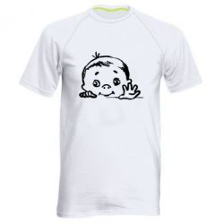 Мужская спортивная футболка Baby
