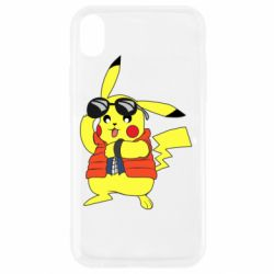 Чохол для iPhone XR Back to the Future Marty McFly Pikachu