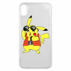 Чохол для iPhone Xs Max Back to the Future Marty McFly Pikachu