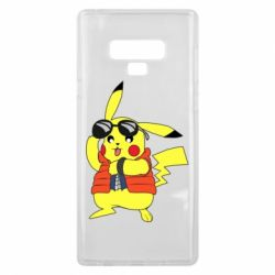Чохол для Samsung Note 9 Back to the Future Marty McFly Pikachu