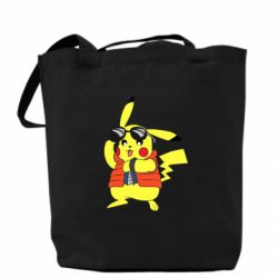 Сумка Back to the Future Marty McFly Pikachu