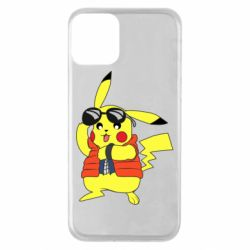 Чохол для iPhone 11 Back to the Future Marty McFly Pikachu