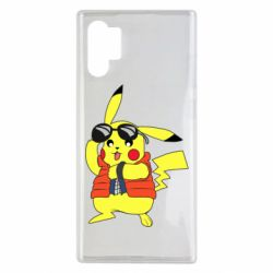 Чохол для Samsung Note 10 Plus Back to the Future Marty McFly Pikachu