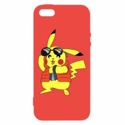 Чохол для iphone 5/5S/SE Back to the Future Marty McFly Pikachu