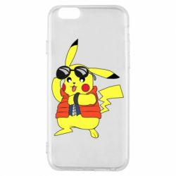 Чохол для iPhone 6/6S Back to the Future Marty McFly Pikachu