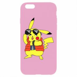 Чохол для iPhone 6 Plus/6S Plus Back to the Future Marty McFly Pikachu