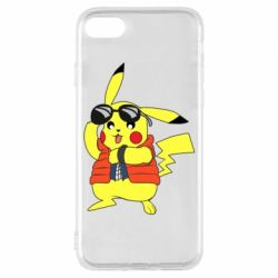 Чохол для iPhone 8 Back to the Future Marty McFly Pikachu
