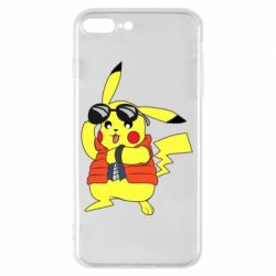 Чохол для iPhone 8 Plus Back to the Future Marty McFly Pikachu