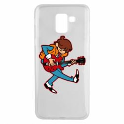Чехол для Samsung J6 Back to the Future Marty McFly