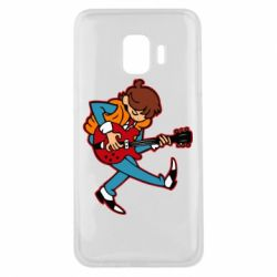 Чехол для Samsung J2 Core Back to the Future Marty McFly