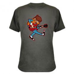 Камуфляжна футболка Back to the Future Marty McFly