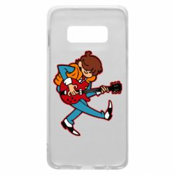 Чехол для Samsung S10e Back to the Future Marty McFly