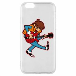 Чехол для iPhone 6/6S Back to the Future Marty McFly