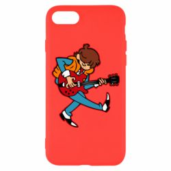 Чехол для iPhone 8 Back to the Future Marty McFly