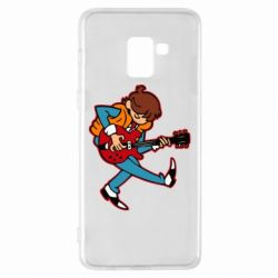 Чехол для Samsung A8+ 2018 Back to the Future Marty McFly