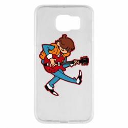 Чехол для Samsung S6 Back to the Future Marty McFly
