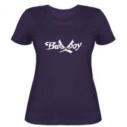 Женская футболка Bad Boy Logo - FatLine