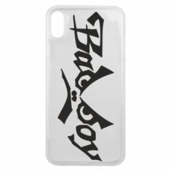 Чехол для iPhone Xs Max Bad Boy Logo